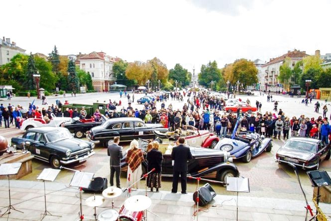 У Тернополі буде фестиваль ретро автомобілів «Золота підкова»
