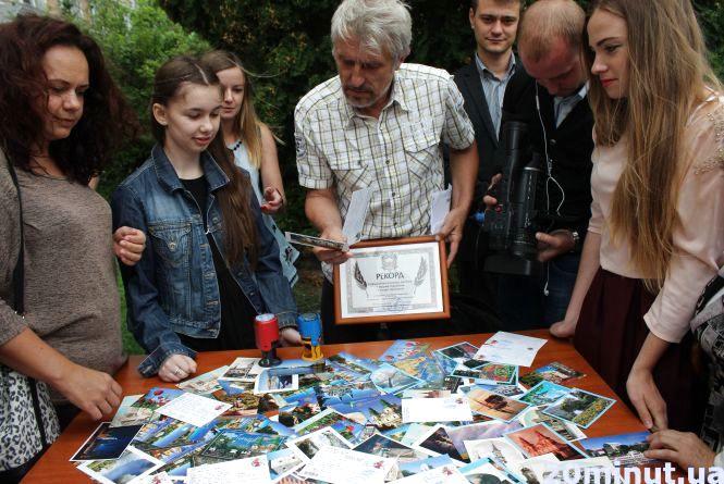Новий рекорд: листівки з Тернополя полетять в Японію, Росію і Нову Зеландію