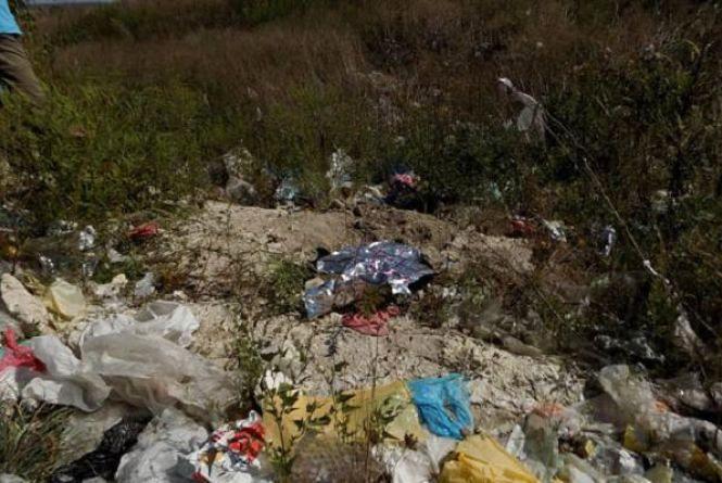 На Малашівському сміттєзвалищі знайшли тіло новонародженої дівчинки (ОНОВЛЕНО)