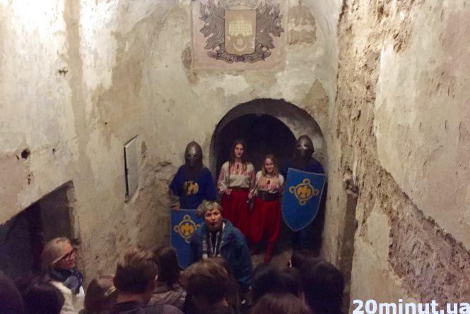 Козаки та лицарі провели під землю понад 350 тернополян