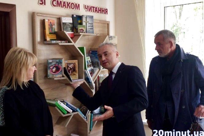 Бібліотеку, яка була перша в списку на закриття, оновили за 190 тис. грн