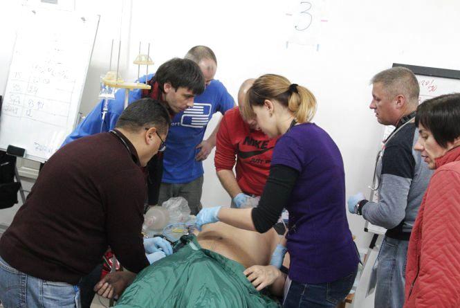 Тернопільські лікарі рятували людей за світовими стандартами