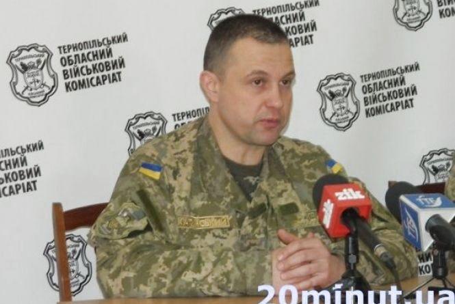 Полковника Катинського ще на два місяці відсторонили від посади