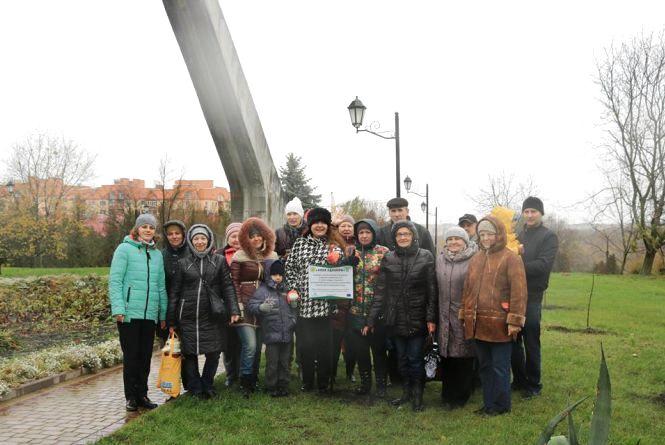 У Тернополі заклали «Алею єднання»