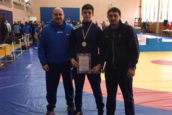Тернополянин став призером чемпіонату України з греко-римської боротьби