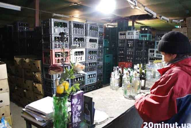 Де у Тернополі можна найбільше заробити на пляшках