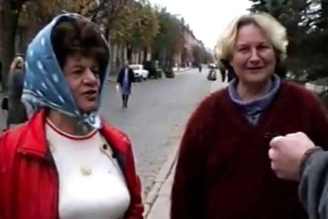 Одяг, зачіски, обличчя тернополян - на відео 1994-го року