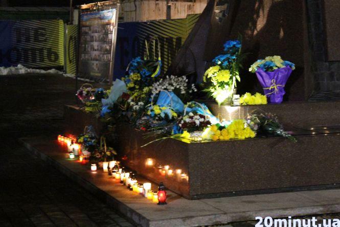 Місцеві активісти вшанували пам'ять борців за свободу