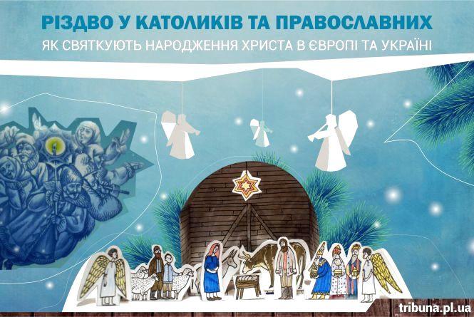 Як святкують Різдво в Європі та Україні