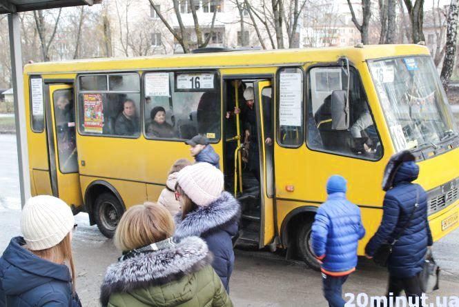 Які маршрутки та тролейбуси їздитимуть у Тернополі в новорічну ніч
