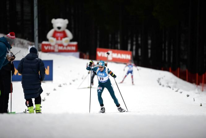 Біатлоністка Меркушина пропустила стартову гонку Кубка світу через хворобу