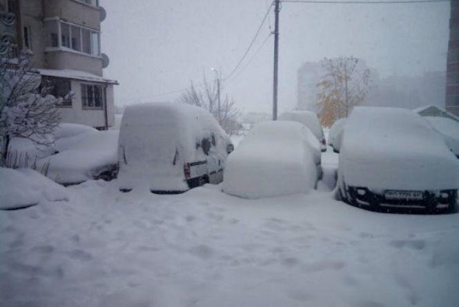 У Тернополі 22 січня прогнозують сильний снігопад