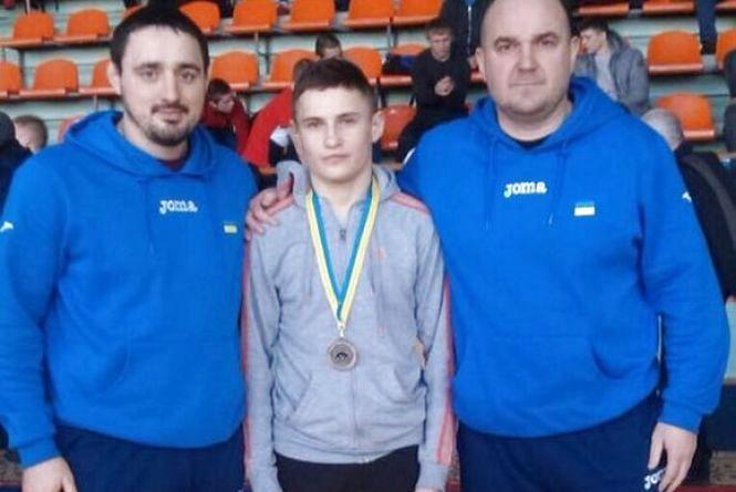 Борець з Тернополя став призером Міжнародного турніру