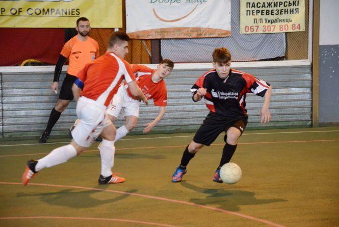Визначили фіналістів футзальної ліги Тернопільщини серед юнаків