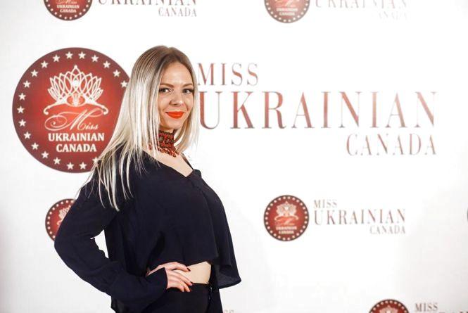 Екс-тернополянка – фіналістка конкурсу «Міс Українська Канада-2018»