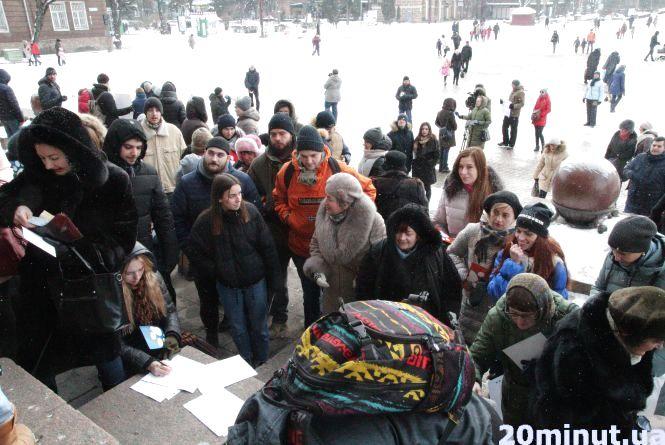 Тернополяни просили владу зупинити беззаконня в місті
