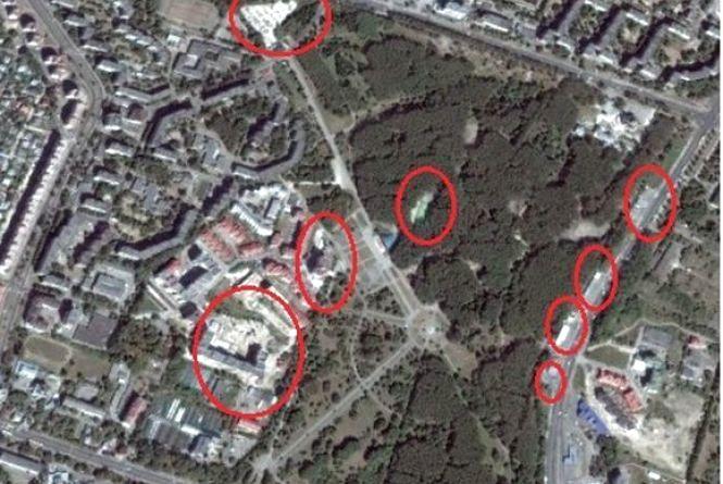 Як забудовують Центр та парки Тернополя