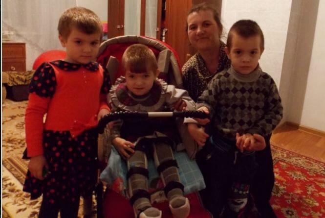 Маленькій Вікторії потрібна операція в  Ізраїлі. Допоможіть зібрати кошти