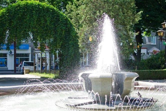 """Фото дня: що раніше було на місці фонтану """"Квітка терену"""""""
