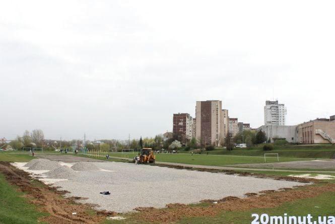 """Біля школи №29 на """"Алясці"""" буде нове футбольне поле"""