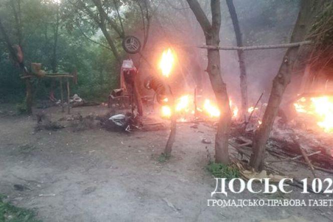 На місці, де спалили циганський табір, знайшли гільзи - подробиці нападу