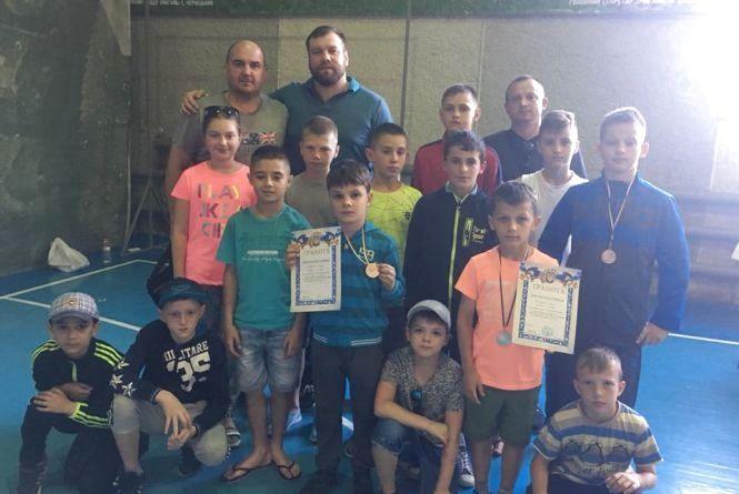 У борців з Тернополя – три нагороди на Всеукраїнському турнірі