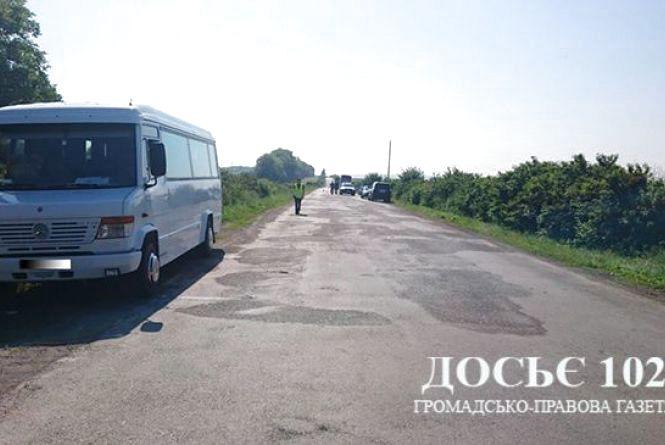 На Тернопільщині автобус збив 19-річну дівчину