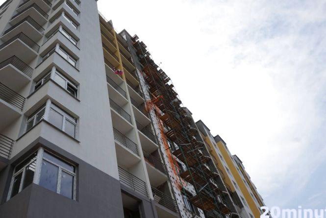 Сьогодні поховають 22-річного Василя, який зірвався з 11 поверху на будові