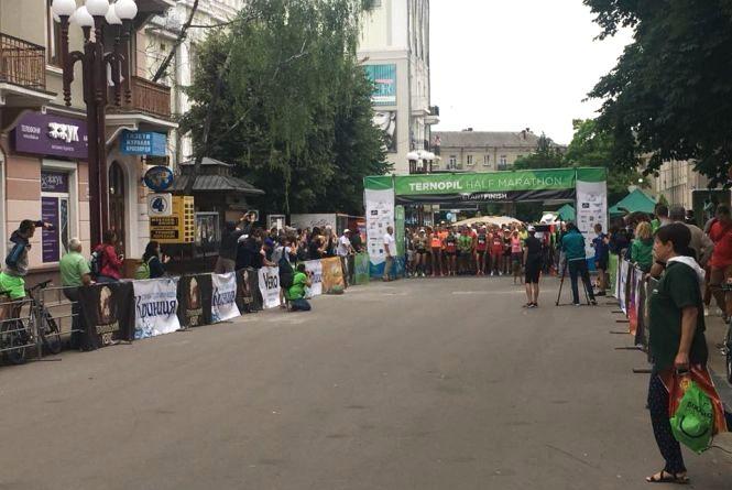 Ternopil Half Marathon 2018: біжать сотні людей