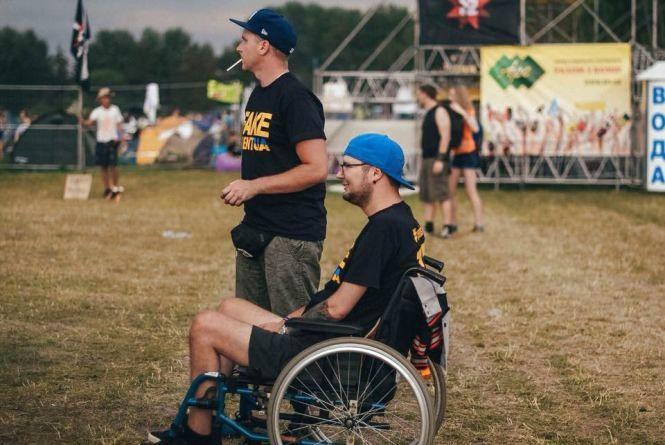 """Фестиваль """"Файне місто"""" буде доступним для людей з інвалідністю"""