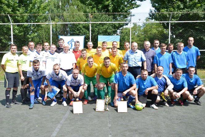 Тернопільські правоохоронці визначили найсильнішого у міні-футболі