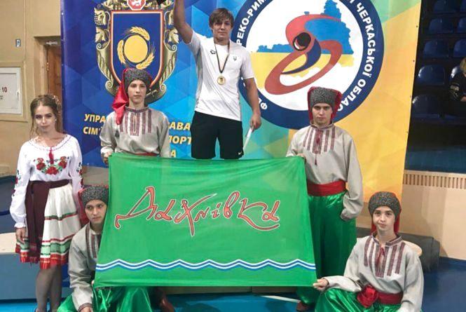 Андрій Антонюк виграв чемпіонат України з греко-римської боротьби