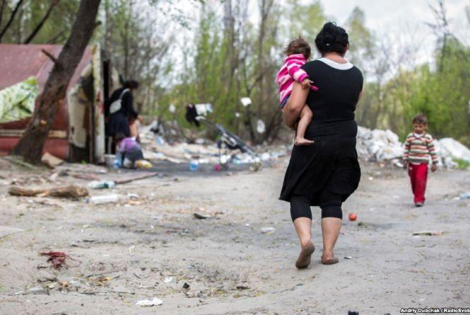 Місця перебування ромів на Тернопільщині контролюють, щоб запобігти можливим розбоям