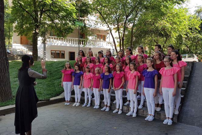 Тернопільський дитячий хор серед призерів конкурсу в Румунії