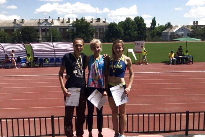 Тернополяни здобули три медалі на молодіжному чемпіонаті України з легкої атлетики