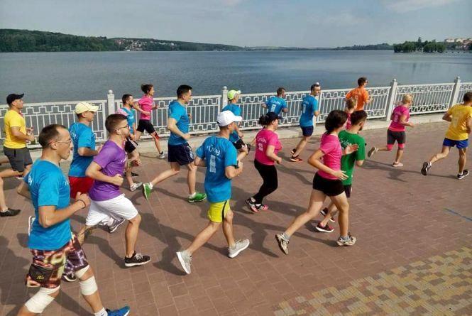 Усіх охочих запрошують бігати щосуботи на Тернопіль runday