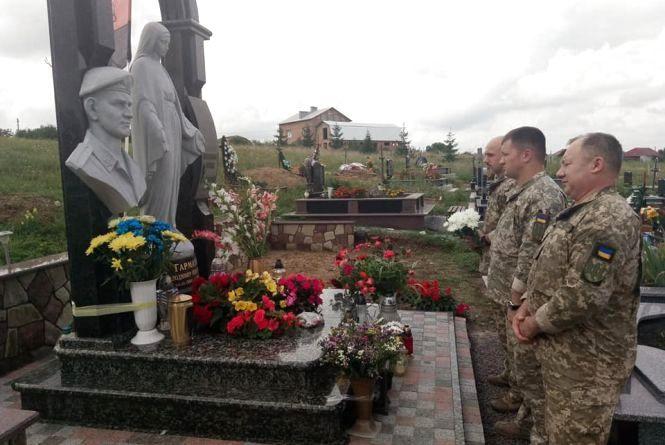 Рідні та друзі вшанували пам'ять Героя Володимира Гарматія