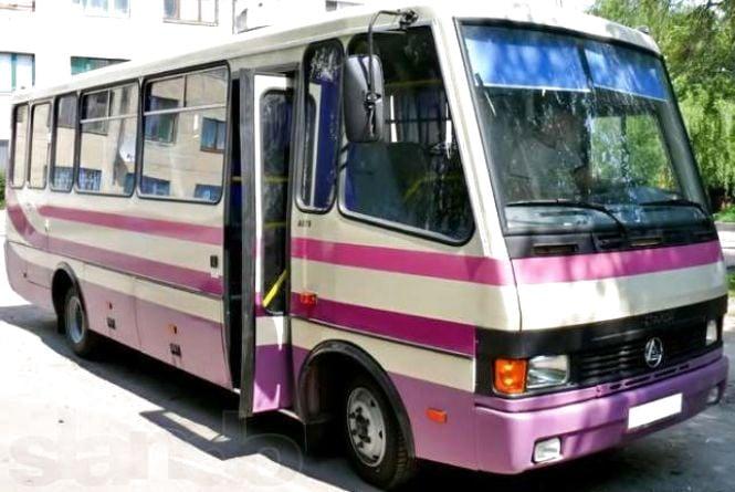 Затримали автобус, водій якого нелегально перевозив 27 дітей з Вінниччини