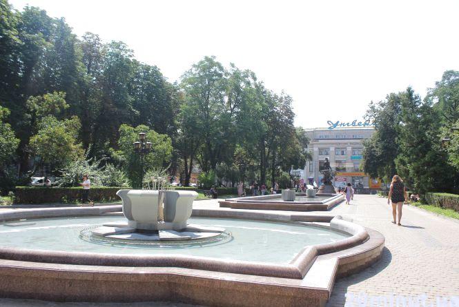 Коли у Тернополі працюють фонтани (оновлене)