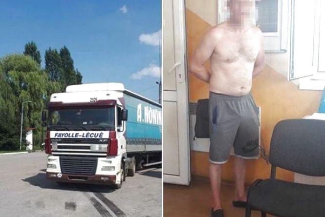 Спрацювала система відеоконтролю «Рубіж»: водій вантажівки був п'яний