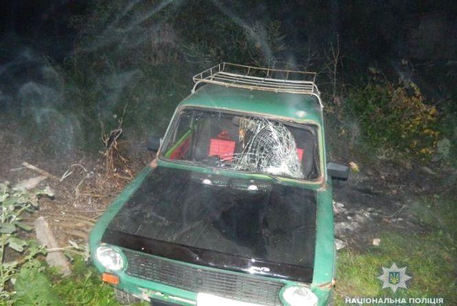 На Тернопільщині п'яний водій збив пішохода і втік. Потерпілий помер