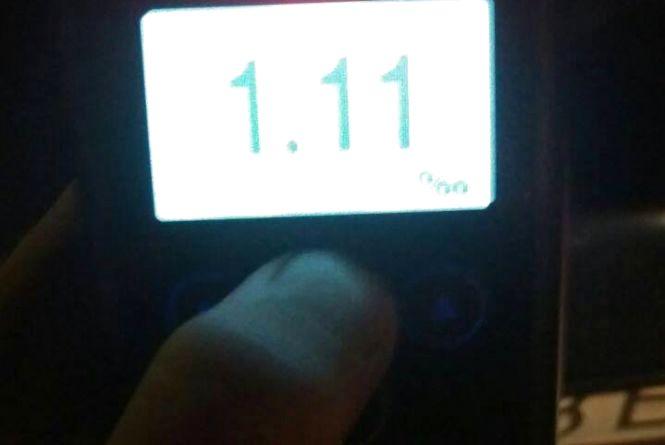 У Тернополі патрульні зупинили водія таксі напідпитку