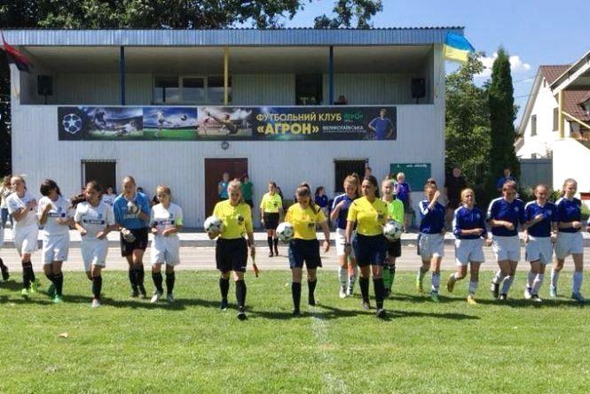 Дівочий турнір з футболу у Тернополі виграли дівчата з Івано-Франківська