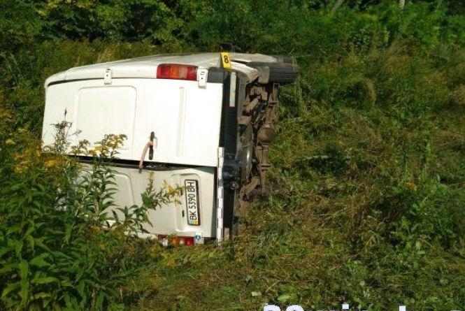 Дві аварії на Тернопільщині: загинув водій і травмувалося 13 людей
