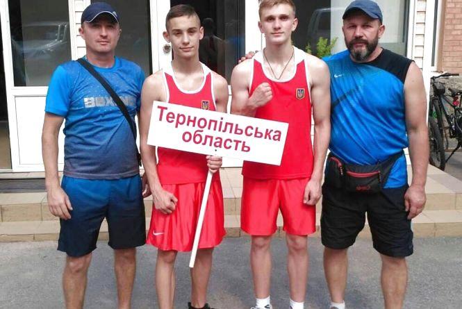 Тернополяни стали призерами юніорського чемпіонату України з боксу