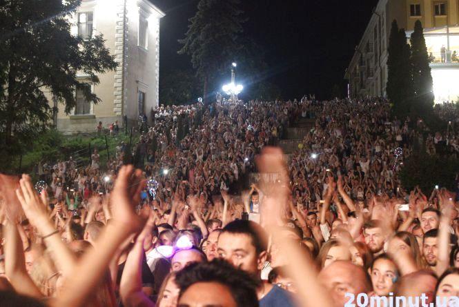 День Незалежності тернополяни святкували гучно і з сюрпризами