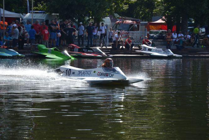 На Тернопільському ставі змагаються гонщики з одинадцяти країн світу