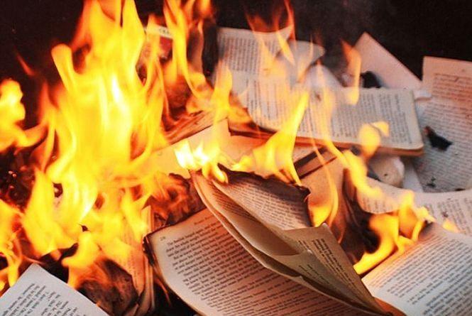 У Тернополі ледь не згоріла бібліотека