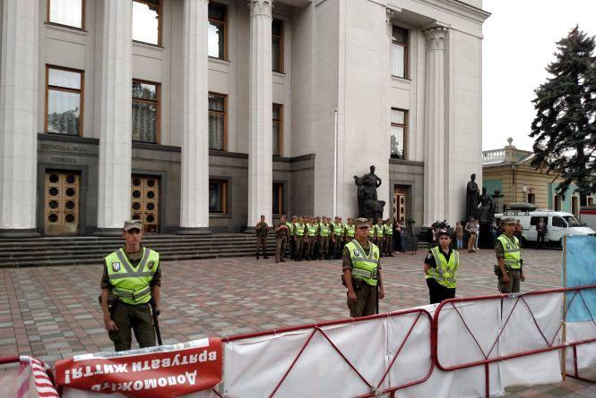 Сотні тернополян прийшли під Верховну Раду заради майбутнього України