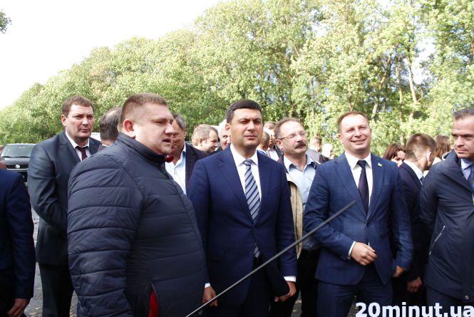Як Гройсман дорогу Тернопіль-Львів інспектував